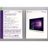 China Microsoft Windows OEM Software , Windows 10 Pro Pack 32bit / 64bit Retail Box wholesale
