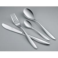 China Romeo OEM good quality stainless steel flatware set 18/10 material 24pcs cutlery set  in color box on sale