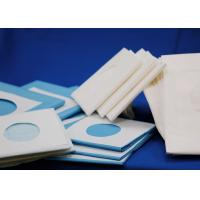 China Round Hole Disposable Surgical Drapes , Rectangle Medical Disposable Sheets wholesale