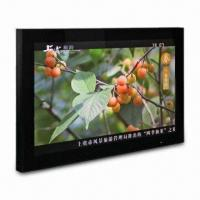 China 19-inch HD Media Player, Supports Annual Calendar, CF/SD/USB Card and Breakpoint Memory on sale