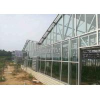 China Open Area Solar PV System 30KW Glass Cover Material 8 - 12 M Span CE Certification wholesale