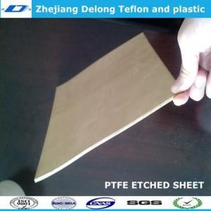 China ptfe etched sheet sample wholesale
