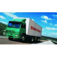 SINOTRUK STEYR 371HP 15 Ton Prime Mover Truck in Green , Manual Unloading Diesel Trucks , Global Machine