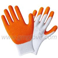 China Red Latex Palm Coated Work Gloves wholesale
