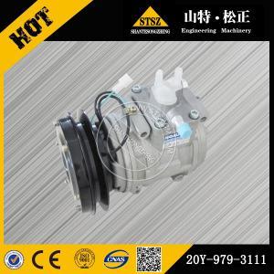 China Dozer parts for komatsu  D85A-21 air compressor 20Y-979-3111 wholesale