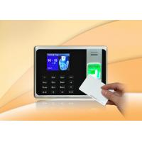 China Simple Fingerprint Access Control With 2.8 Inch TFT Screen / Self - Service Report wholesale