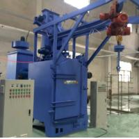 China Bulk Casting Special Hook Type Shot Blasting Machine For Mechanical And Steel Industry on sale