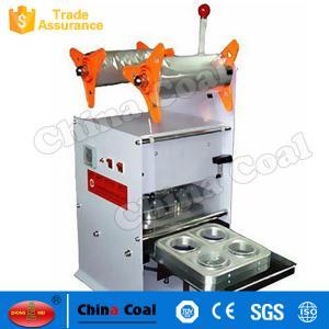 China Hot Sale Juice Cup Sealing Machine Fun NC4 Manual Plastic Cup Sealing Machine on sale
