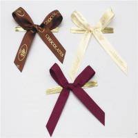 Colored Small Ribbon Bows 100% Polyester Material Handmade Artworks