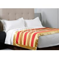 China Customized Luxury Hotel Collection Bedding White Bed Linen Single Size or Double Size wholesale