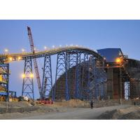China Durable Belt Conveyor Structure Light Steel Frame Structure For Copper Mining wholesale