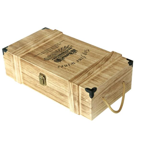 Quality WOODEN WINE GIFT BOX for sale