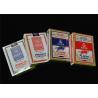 China Standard Poker Size 63*88mm Casino Playing Cards Black Core Gambling Casino Usage wholesale