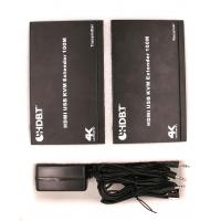 China HD 1080P HDMI USB Extender Over Single UTP Cable with Dual IR Control Support on sale