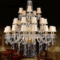 Buy cheap European Indoor Lighting Crystal Chandeliers (WH-CY-114) from wholesalers