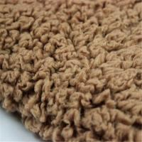 China Sherpa Fabric/ Poly Fabric/ Shu Velveteen/ Used in the clothing/ For BLanket/  For Hat/ For Gloves/ For Scarf wholesale