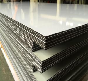 China SGS Approved Sandwich Panel Aluminium , Fire Resistant Aluminium Composite Panel on sale