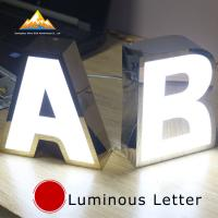 China Reception & Lobby Signage Illuminated Channel Letters Interior Signs wholesale