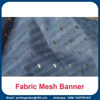 China Fabric Mesh Fence Banner Signs Wrap wholesale