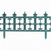 Garden Furniture Fence Edging, Made of Plastic PP