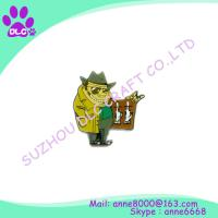 Buy cheap Promotion cheap metal custom design service lapel pin from wholesalers