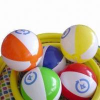 China Beach Ball Set, Made of PVC, Available in Various Colors wholesale
