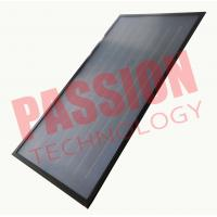 China High Performance Flat Plate Solar Collector CE / PED Approved Ultrasonic Welding wholesale