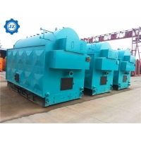 China 1-6T 184C 1Mpa Palm Waste Palm Fiber And Biomass Fired Steam Boiler For Palm Oil Mill wholesale