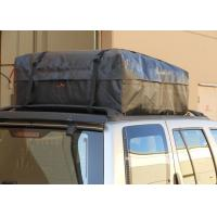 All Vehicles 100% Waterproof Rooftop Cargo Bag With Side Rails Black Color