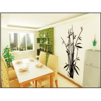 China Anti-Scrape Bamboo Nature Modern Wall Decals / Custom Wall Decals 0.7m x 1.2m wholesale