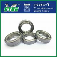 Deep Groove Thin Wall Ball Bearings For Motocircle Motor Low Noise 6802 ZZ