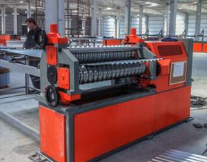 Quality 1.5 - 3m m acanalaron el rollo de la hoja de acero que formaba el motor de la máquina 55kw para el panel de pared de Silo for sale