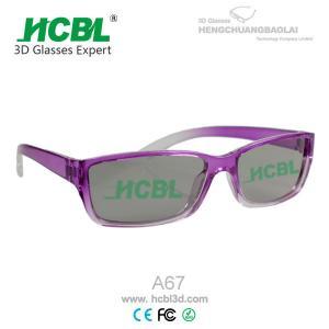 Buy cheap Стекла 3D мастерского изображения пурпуровые from wholesalers