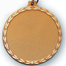 Blank Sports Medal for Golf