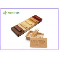 China Debossed Logo USB Wooden Memory Sticks 16GB For Company & Individual wholesale