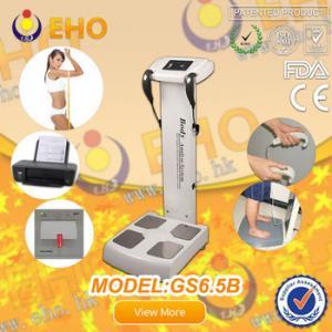 China GS6.5B BMI Bioelectrical impedancebody fat analysis machine/ measuring human height machin wholesale