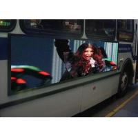 China Outdoor Waterproof LED Mobile Billboard 6mm Pixel Pitch For Bus Advertising wholesale
