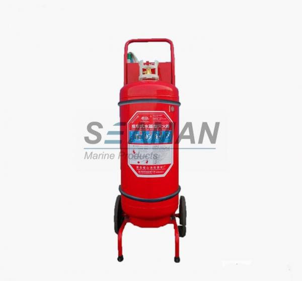 Quality Mobile Trolly Marine Fire Extinguisher Wheel 45L Foam For Ship  Fire - Fighting for sale