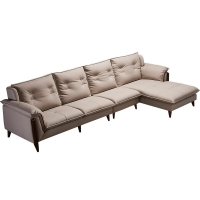 China Fashionable Mid Century Modern Sectional Sofa Couch Customized Size wholesale