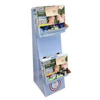 Buy cheap Folding Paper Free Standing Cardboard Displays For P&G , Eco Friendly from wholesalers