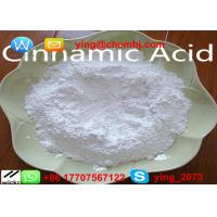 China 99.65% Pharmaceutical Raw Materials Powder Cinnamic acid For Flavors CAS 140-10-3 wholesale