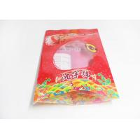 China Heat Sealable Flat Bottom Stand Up Plastic Bags For Food Packaging , Snack pouches wholesale