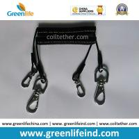 Flexi Tool Safety Coiled lanyard  w/Stainless Steel Snap Hooks on each end for Clipping to Your Valuable Merchandise