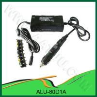 China Factory Manufacture OEM for Car and Airplane use with LED show DC 80W Universal Power Supply for Laptop - ALU-80D1A wholesale
