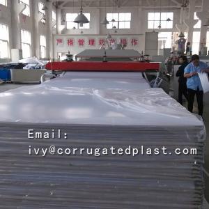 China Plastic Corrugated Sheets fire retardant floor protection sheet wholesale