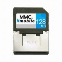 China MMC Card, 1.8 and 3.3V Dual Voltage and 7Mbps Reading Speed, for Mobile Phones/PDA/Digital Cameras on sale