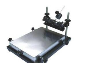 Quality Medium Manual Stencil Solder Paste Printer For SMT Production Line for sale