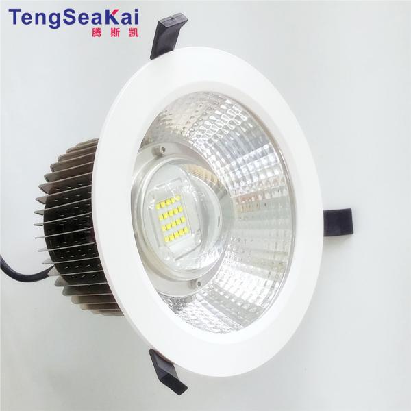 Quality CRI90 resseced ilumina downlights conduzidos 60W das lâmpadas do diodo emissor de luz dos Luminaires 175mm 200mm 250mm 270mm for sale