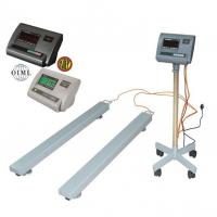 China Lightweight Industrial Floor Weighing Scales Portable Weigh Beams ,bar scale 1.2 X 0.076m wholesale