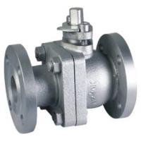 China Adjustable Cast Iron Flanged Ball Valve 2pc Ball Valve Optional Lockable Handle wholesale